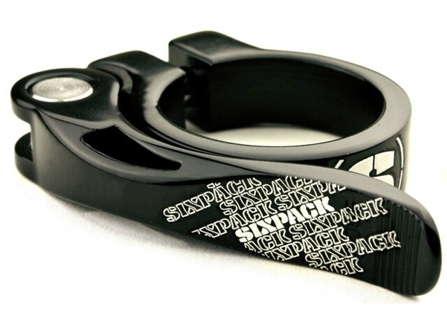 Sixpack Menace Collier de selle Ø31,8mm, black